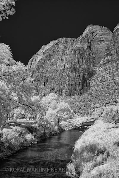 Infrared Photograph 5444 Utah View  | Infrared Photography | Koral Martin Fine Art Photography