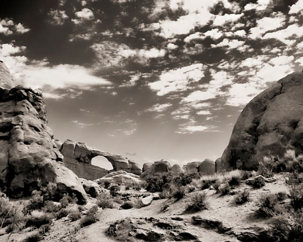 Infrared Arches Photograph 5611  | Infrared Photography | Koral Martin Fine Art Photography