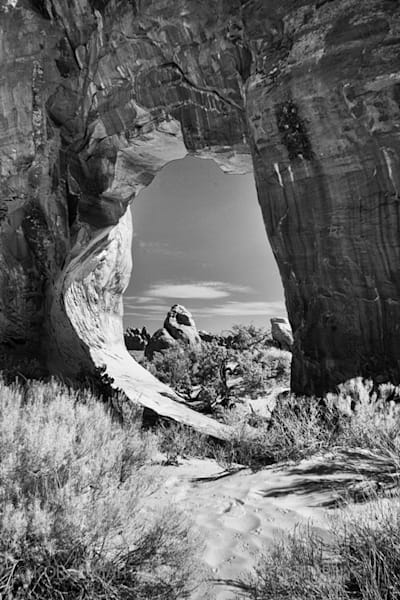 Infrared Arches Photograph 5600  | Infrared Photography | Koral Martin Fine Art Photography