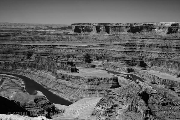 Infrared Dead Horse State Park Colorado River Photograph 5653  | Infrared Photography | Koral Martin Fine Art Photography
