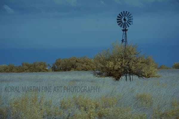 Infrared   Windmill    Photograph | Infrared  Photography |  Koral Martin Fine Art Photography