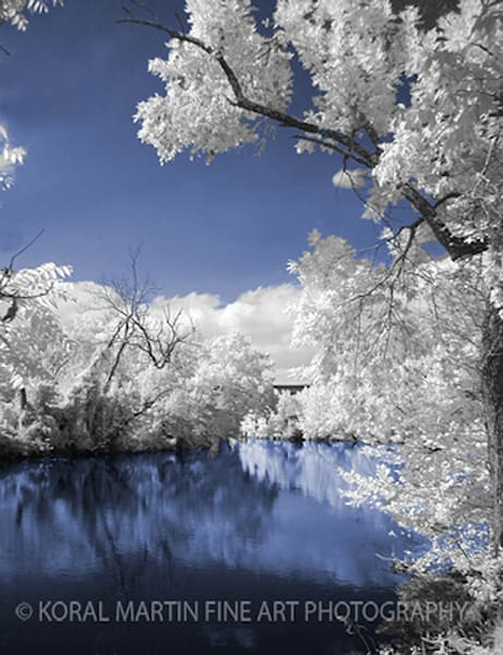 Infrared Shoal creek blues Photograph 3 Tranquil  | Infrared Photography | Koral Martin Fine Art Photography