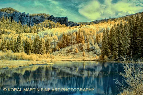 Infrared Opal Lake Photograph 6361 V2  | Infrared Photography | Koral Martin Fine Art Photography