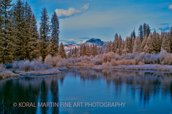 Infrared Opal Lake Infrared Photograph 6364 Photograph 800  | Infrared Photography | Koral Martin Fine Art Photography