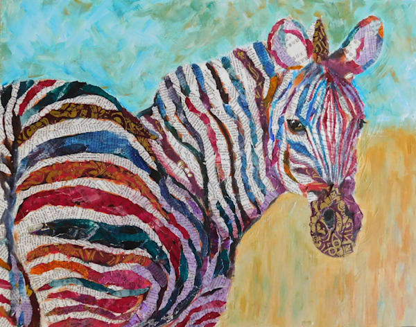 zebra, collage, zebra-art, african-animals