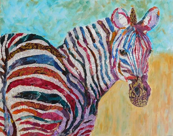 zebra, collage, zebra-art, african-animals