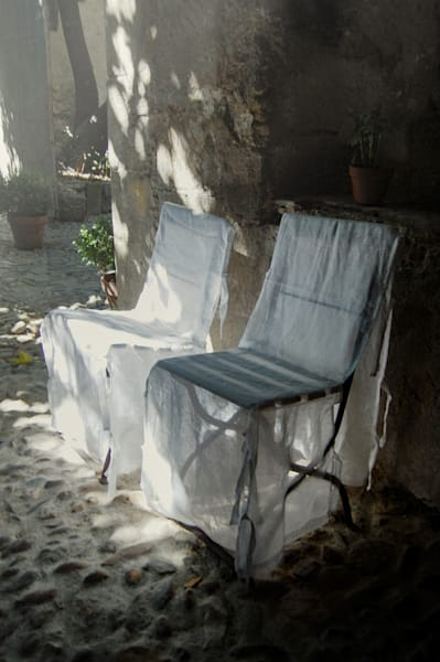 Lourmarin Chairs Provence Photography Art | DMM Media, LLC
