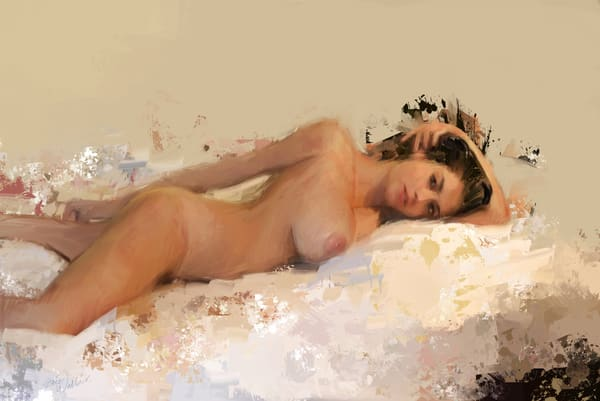 Naked In My Bed by Eric Wallis.