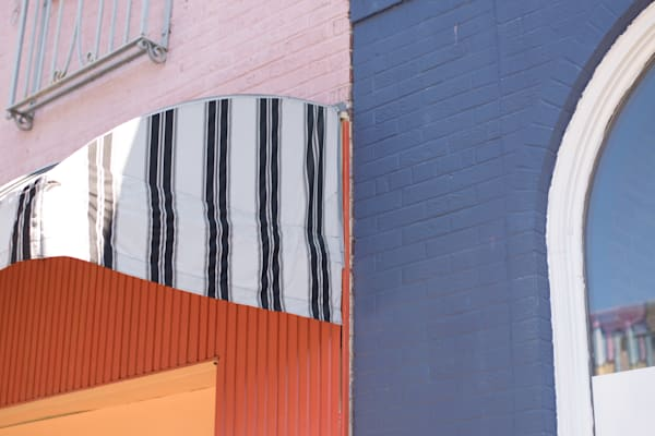 Closeup Colorful Detail Carytown Richmond VA