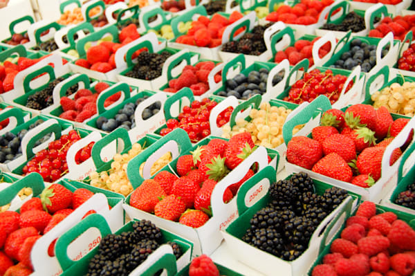 Berries at Provence Market