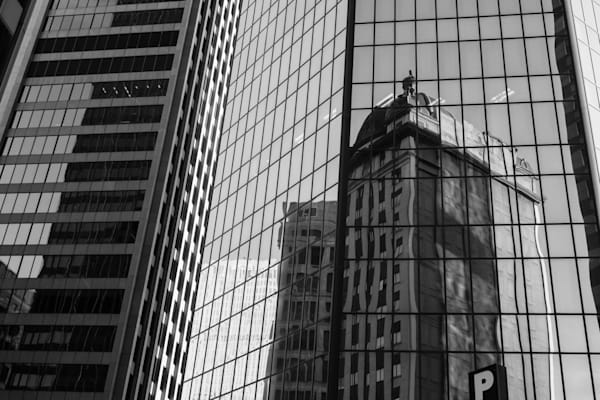 Pittsburgh Skyscraper Reflections