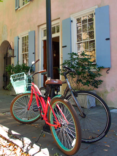 Colorful Bicycles Charleston SC