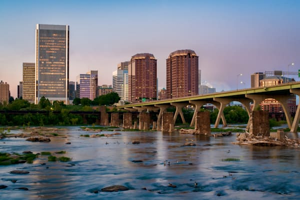 Richmond VA Skyline artwork