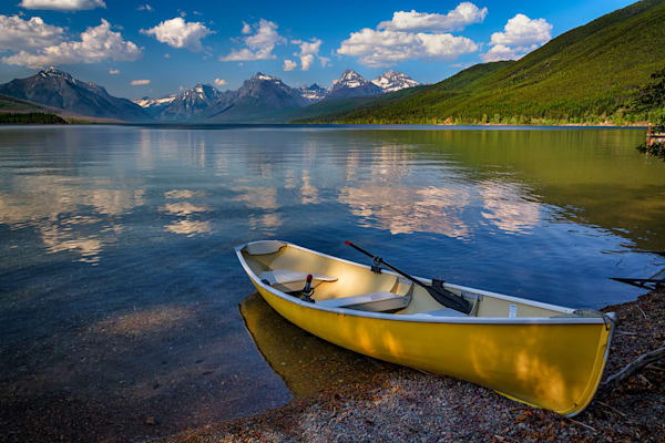 Afternoon at Lake McDonald by Rick Berk