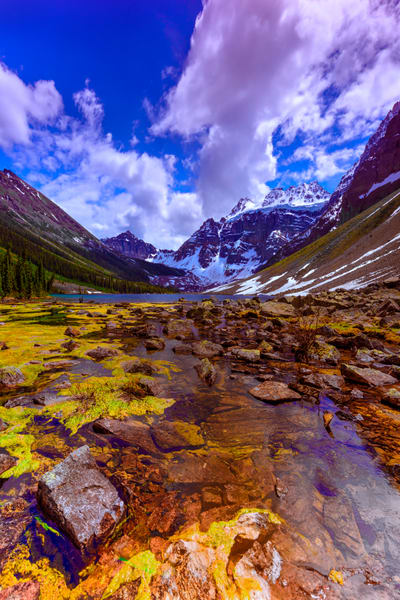 Consolation Valley #2. Banff National Park|Canadian Rockies|Rocky Mountains|