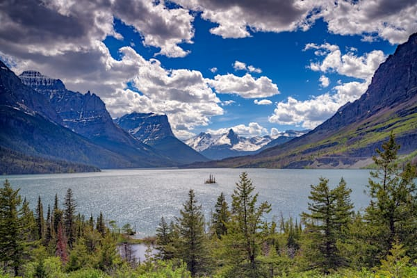 Saint Mary Lake by Rick Berk