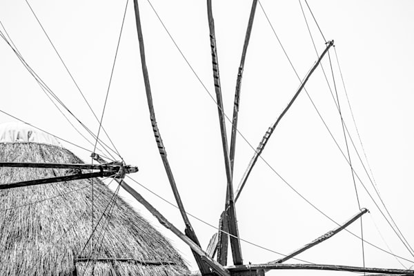 Jasa Fine Art Gallery | 2062 MYKONOS WINDMILLS  by Jasa