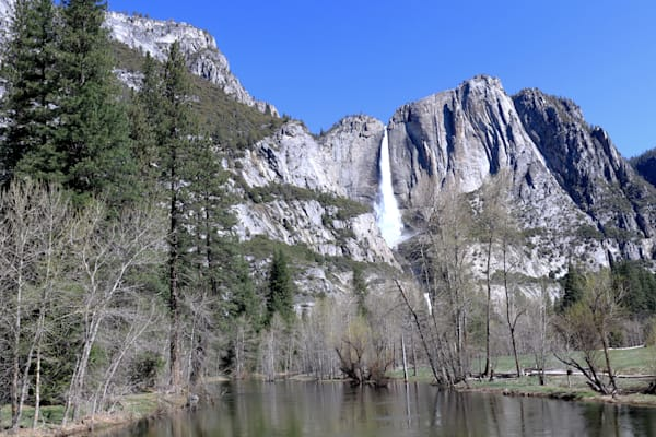 Yosemite Falls 2400 plus feet tall