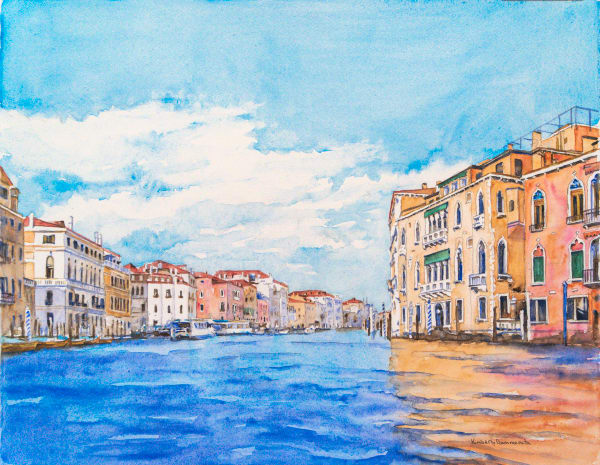 Paintings of Venice for Sale | Kimberly Cammerata
