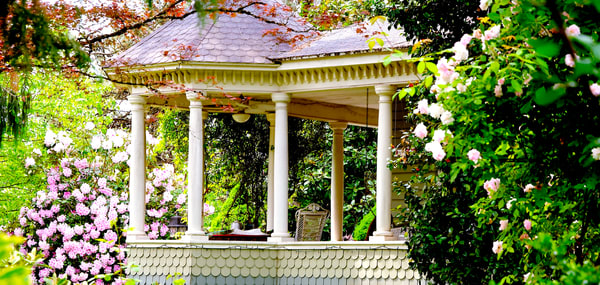 Flower Garden Chair