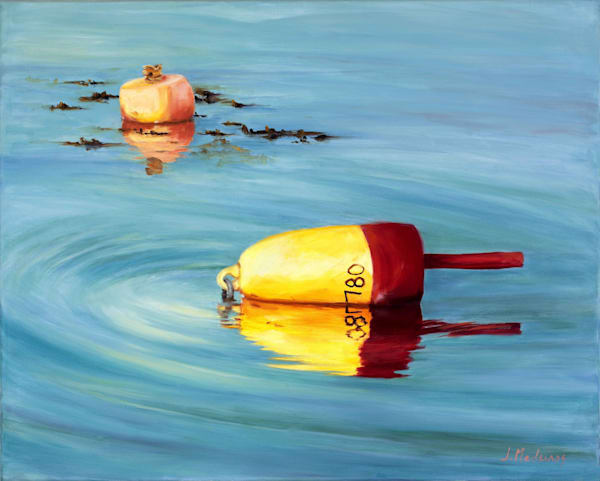Maine Lobster Buoys Art | J. Medeiros Fine Art