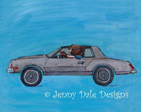 Brian's Ride Art | Jenny Dale Designs