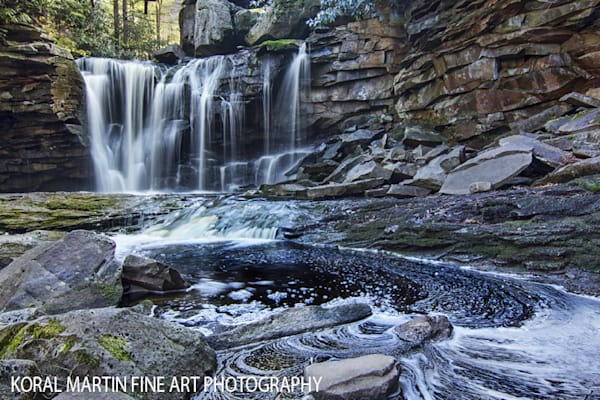 Elakala Falls Photograph 5287 Black River  | West Virginia and Virginia Photography | Koral Martin Fine Art Photography