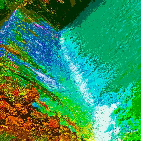 Sachna Waterfall | Lauree Feldman | Roost Artist