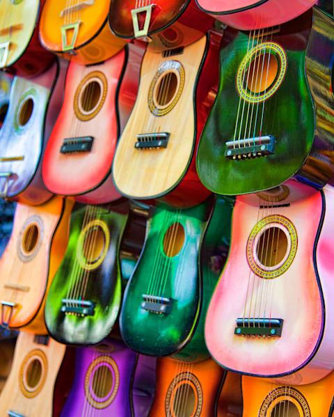 TX, san-antonio, hill-country, fiesta, party, guitar, color, art