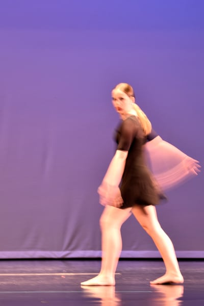 Dancer Walking
