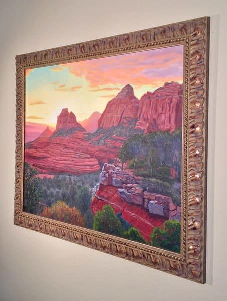 Schnebly Hill Sunset Art | Simon Fine Art
