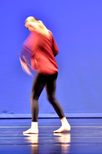 Dancer Leaving Stage Left