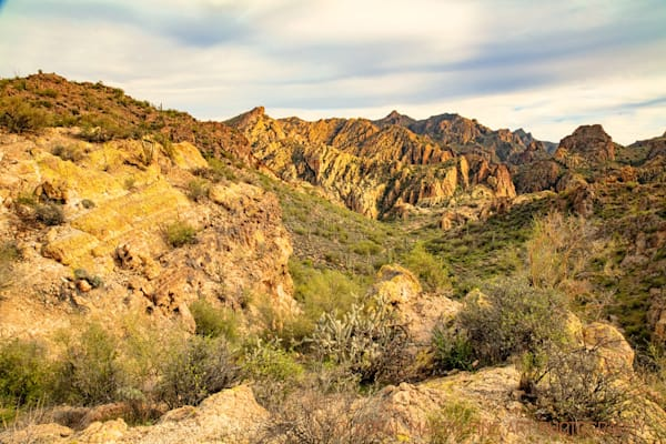 Apache Trail View Photograph 2403 AZ Photograph 1 LF  | Arizona Photography | Koral Martin Fine Art Photography