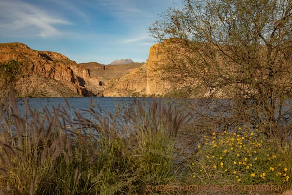Canyon Lake Apache Trail Photograph 2469 AZ LF  | Arizona Photography | Koral Martin Fine Art Photography
