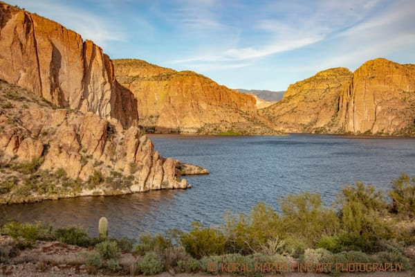 Canyon Lake Apache Trail Photograph 2490 AZ LF  | Arizona Photography | Koral Martin Fine Art Photography
