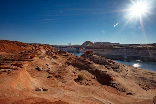 Lake Powell Sunburst 4625  Photograph | Arizona  Photography |  Koral Martin Fine Art Photography