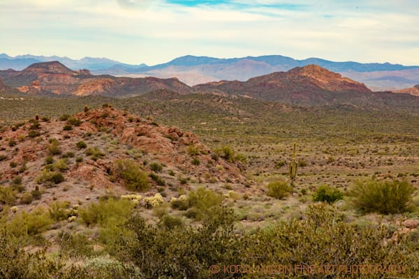 Lost Dutchman View Apache Trail Photograph 2094 | Arizona Photography | Koral Martin Fine Art Photography