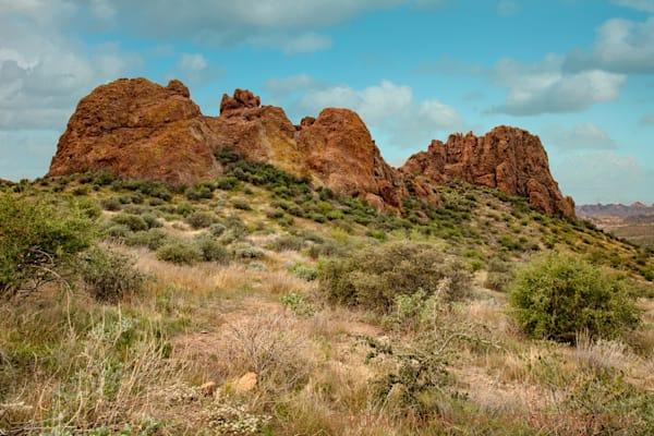 Lost Dutchman View Apache Trail Photograph 2101 AZ LF  | Arizona Photography | Koral Martin Fine Art Photography