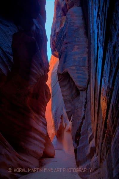 Buckskin Gulch with Water Shining Photograph 5194 | Utah Photography | Koral Martin Fine Art Photography