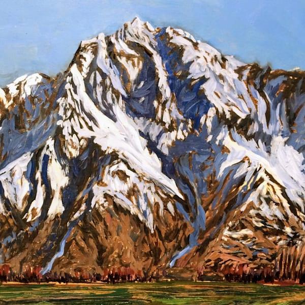 Pioneer Peak - Alaska art print