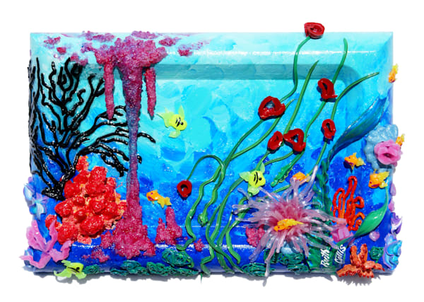 Coral Over Recessed Panel