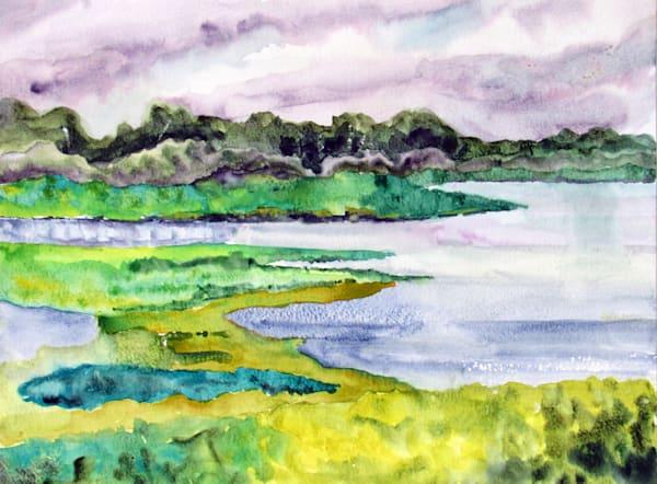 Medard Conservation Park   Original Plein Air Art | David Beale