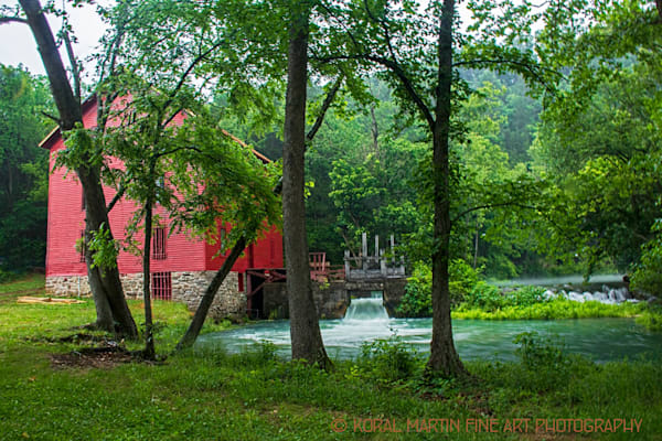 Alley Mill Summer Photograph 2577 A  | Missouri Photography | Koral Martin Fine Art Photography