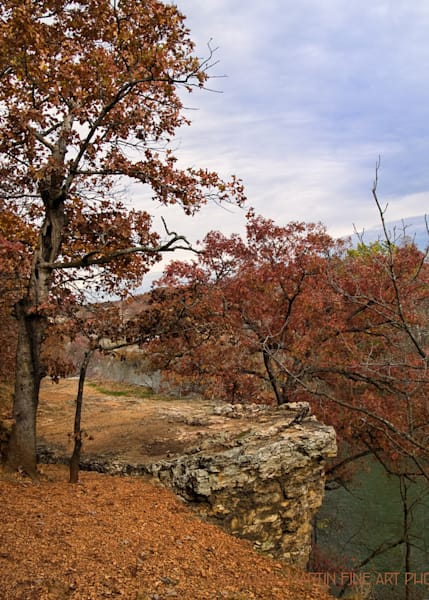 Shoal Creek Bluff Photograph 123492 in the Fall | Missouri Photography | Koral Martin Fine Art Photography