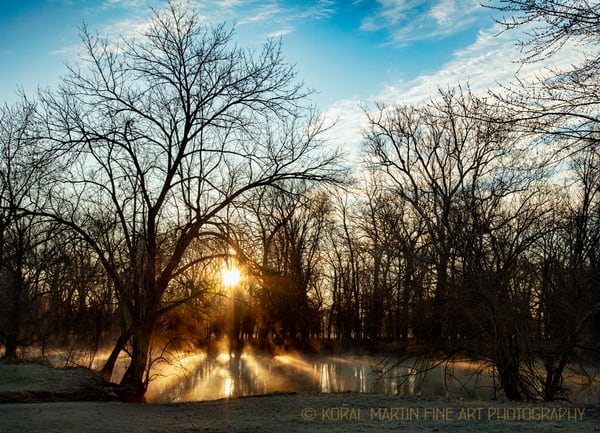 Steam on Spring River7907 Photograph 1080  | Missouri Photography | Koral Martin Fine Art Photography