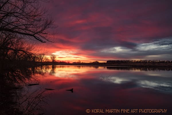 Talbot Conservation Area Sunset8361  | Missouri Photography | Koral Martin Fine Art Photography