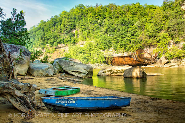 Boats Cumberland Falls Photograph 0147g Photograph 1  | Kentucky Photography | Koral Martin Fine Art Photography