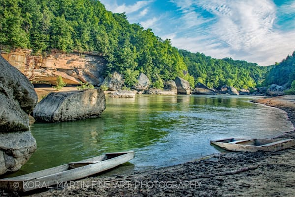 Boats Cumberland Photograph 0128 Color   | Kentucky Photography | Koral Martin Fine Art Photography