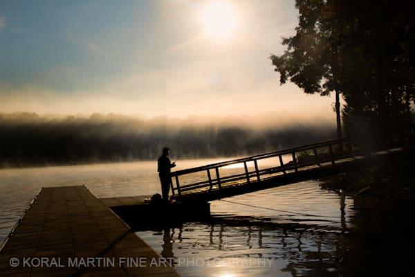 Fisherman Sunrise Ky Lake Barkley Photograph 8583 Photograph 2  | Kentucky Photography | Koral Martin Fine Art Photography