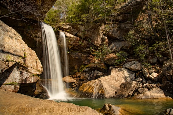 Eagle Falls at Cumberland Falls Photograph 8637  | Kentucky Photography | Koral Martin Fine Art Photography